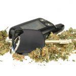 driving high -keys and marijuana picture